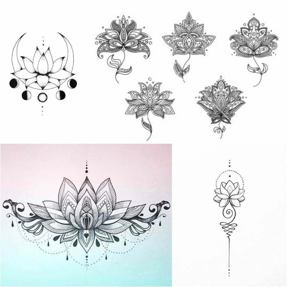 Lotus Flower Tattoo Female Lotus Tattoos Designs With Meaning Lotus Tattoo Design Tattoo Designs And Meanings Lotus Flower Tattoo Meaning