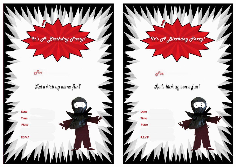 Pin by crafty annabelle on ninja printables pinterest ninja ninja warriors birthday printable invitations click image below to enlarge and print stopboris Images