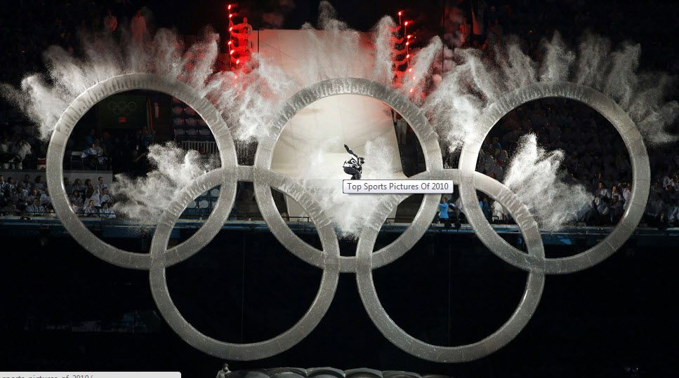 Opening ceremony of the Vancouver 2010 Winter Olympics.
