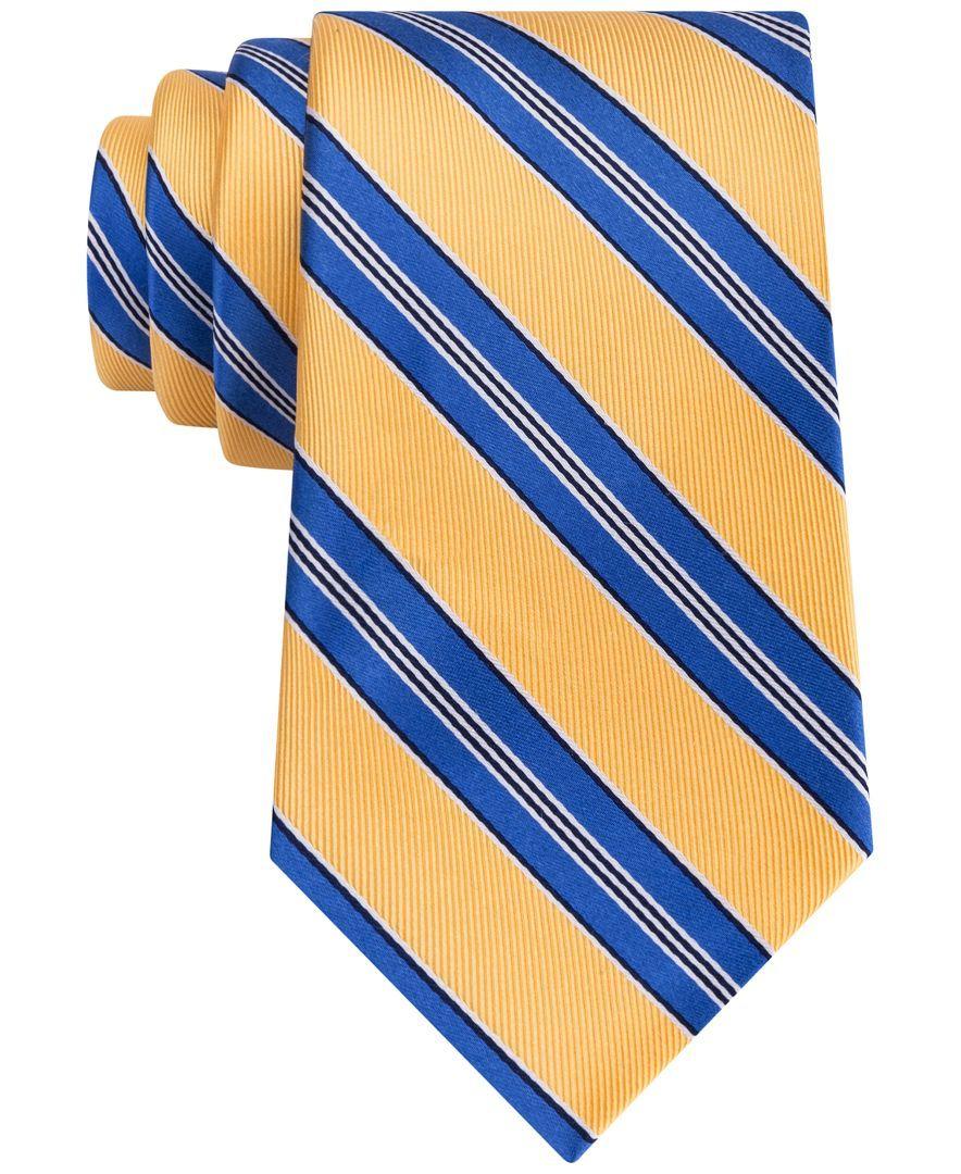 Tommy Hilfiger Men's Twill Bar Stripe Tie