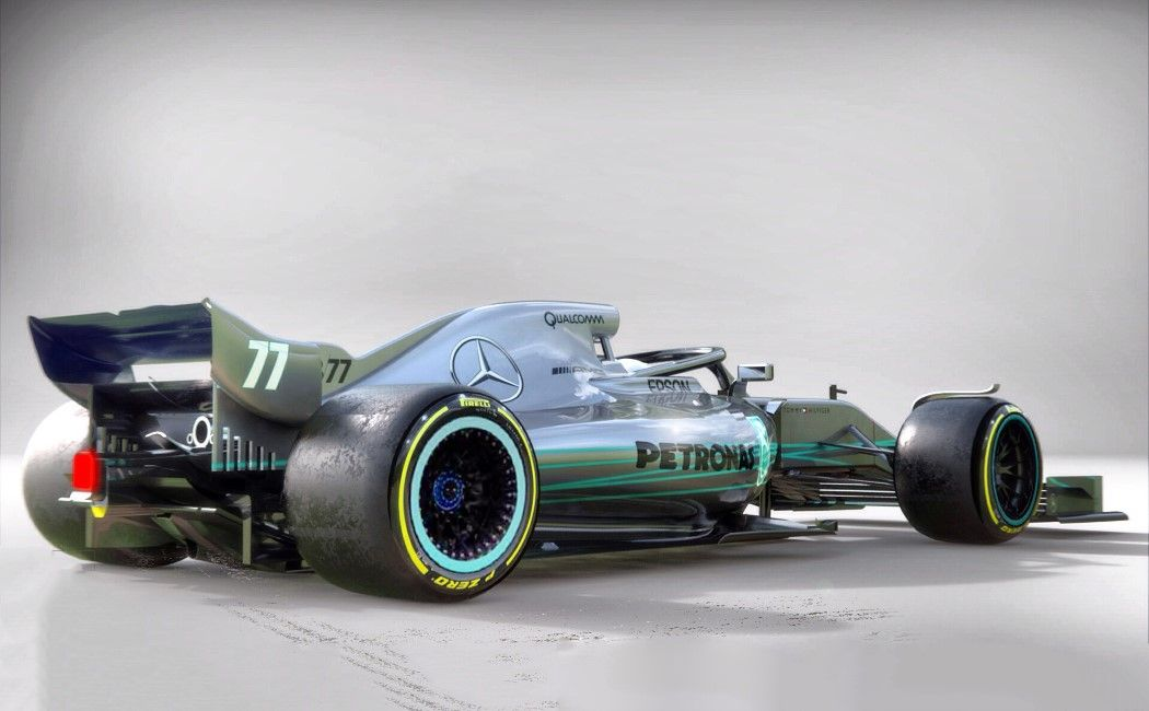 A transport designer imagines what F1 cars in 2021 will