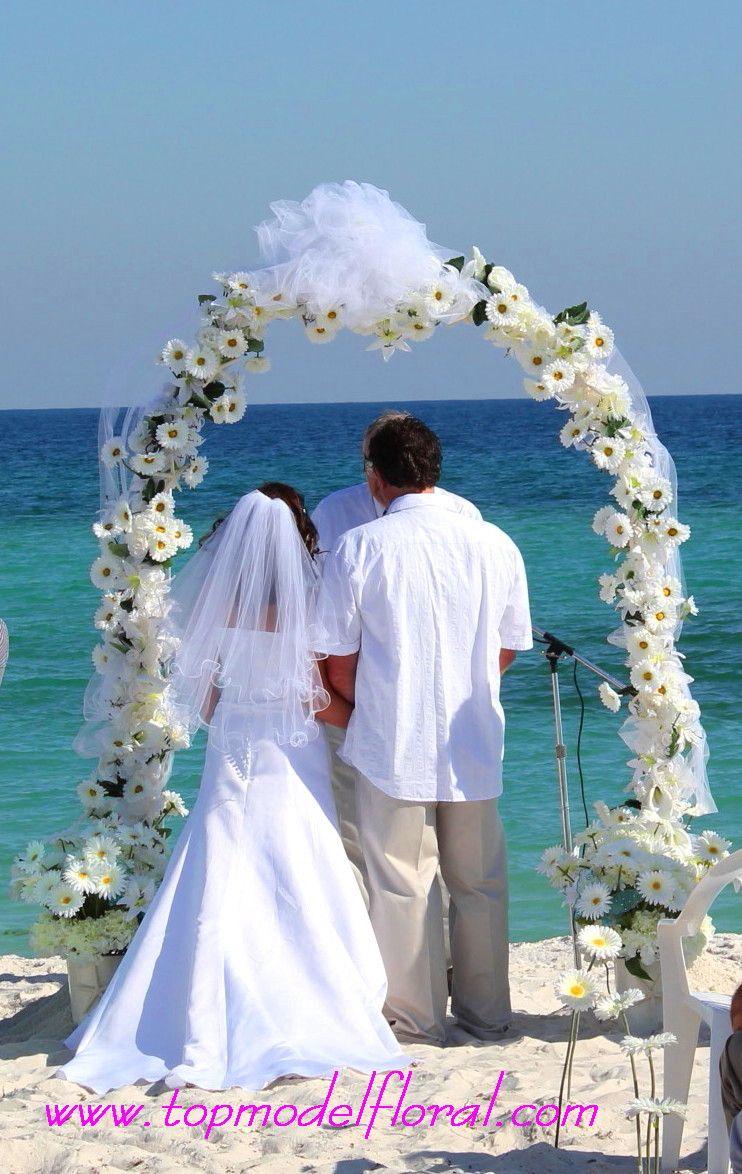 wedding arches | Daisy Wedding Arch | Unique Floral Arrangements By ...
