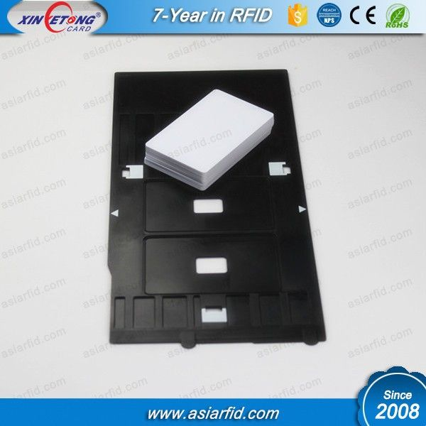 Plastic Epson Printer R Pvc Id Card Tray  Rfid Hardware