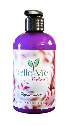 Organic Peppermint Body Lotion - 8 Oz - http://essential-organic.com/organic-peppermint-body-lotion-8-oz/