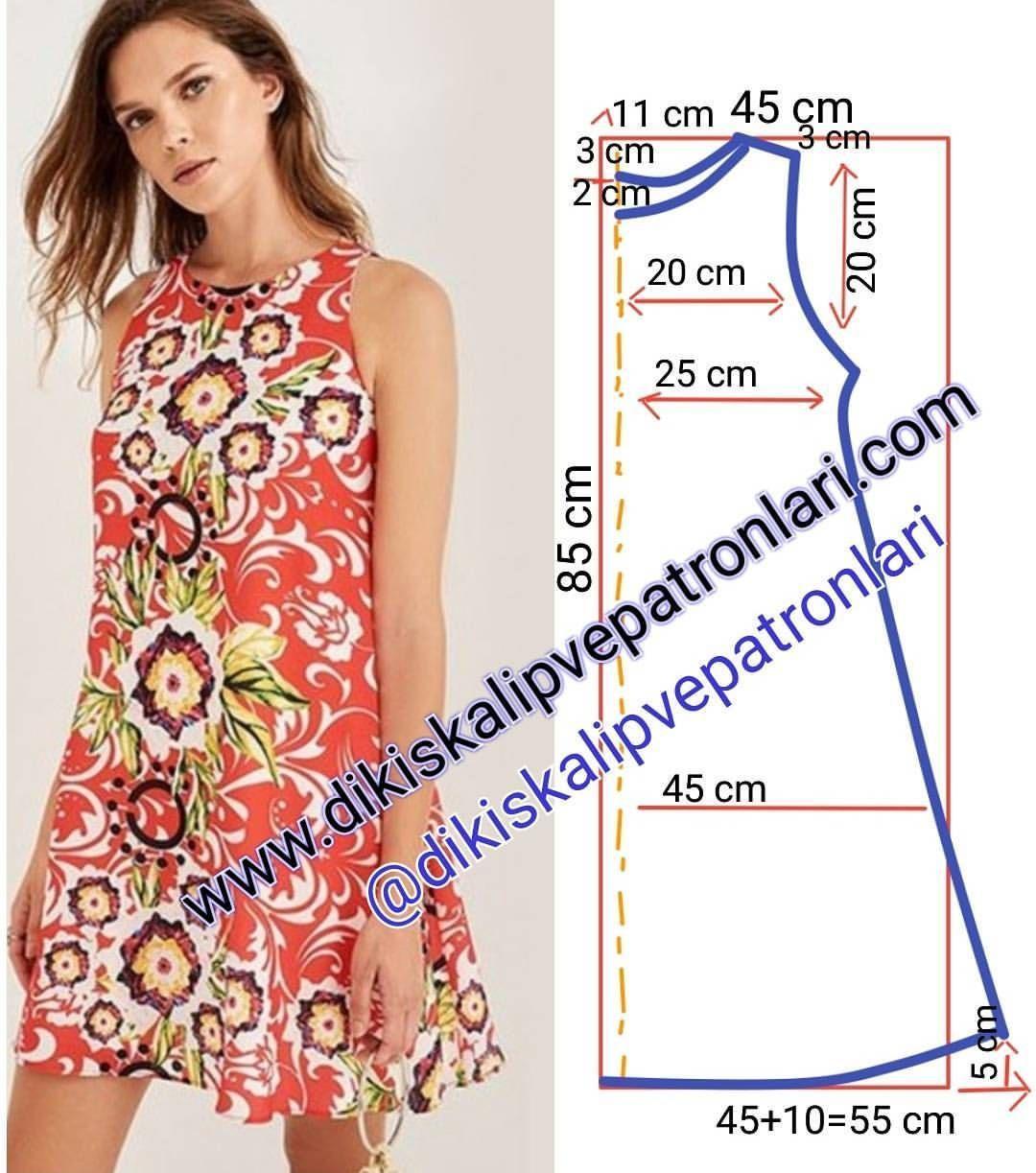 new product 6eeac a509c Immagine correlata | AAAAAAAAA | Tutorial vestito cucito ...