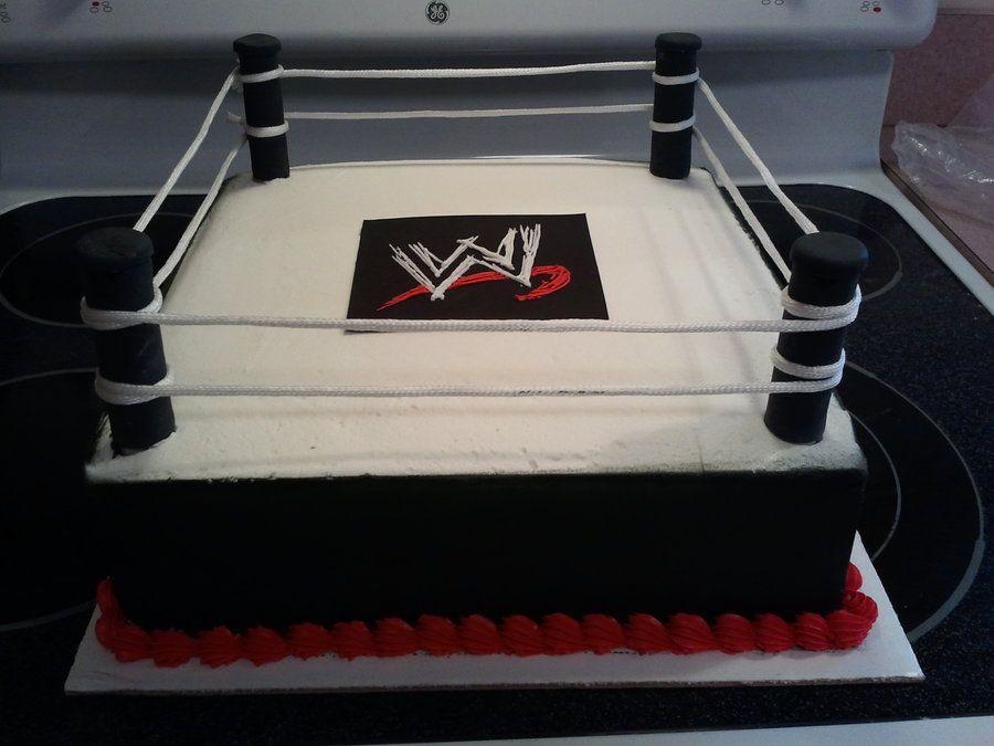 Wrestling Ring Cake Wrestling Birthday Cakes Ring Cake Wrestling Cake