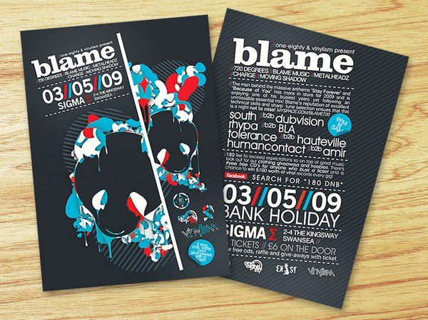 Picnic Flyer Ideas   Stunning Examples Of Nightclub Party