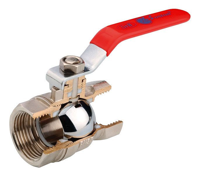 Ball Valve Cutaway Plumbing Valve Water Plumbing