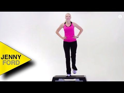 Jenny Ford Youtube Jenny Ford Step Workout Aerobics