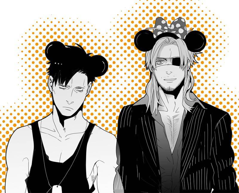 Gangsta, Nicolas and Worick