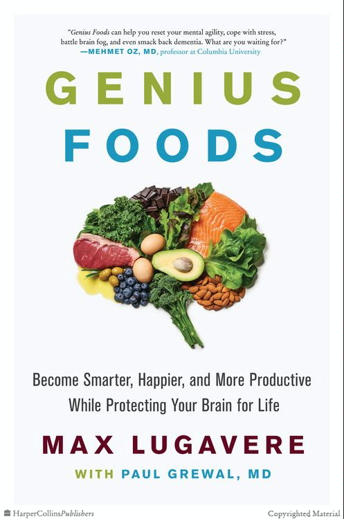 Discovering Age Specific Brain Changes >> Genius Foods Max Lugavere Hardcover In 2019 Read Books How