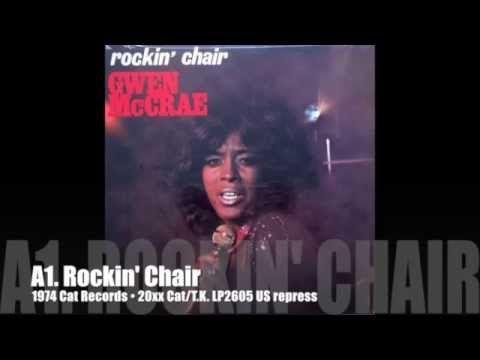 """JESSIE SPENCER: Gwen McCrae - """"Rockin' Chair"""""""