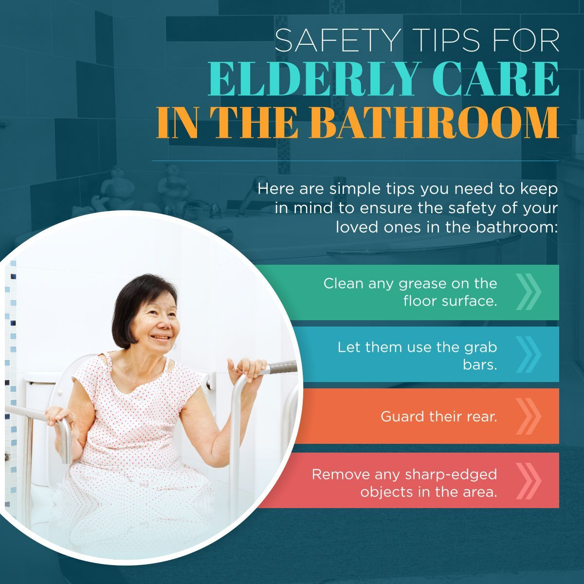 Safety Tips for Elderly Care in the Bathroom ElderlyCare