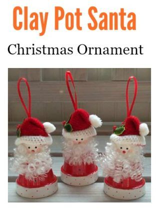 10 Creative Clay Pot Christmas Craft Ideas Christmas