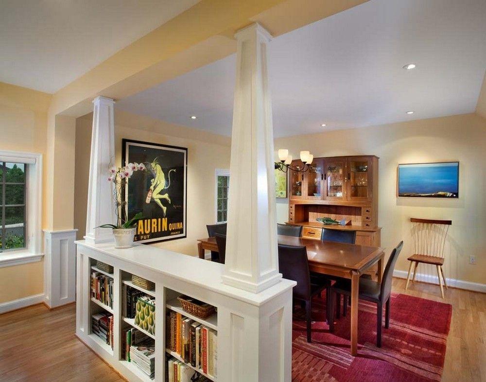 Реконструкция Классического Дома 1930Х Годов  Home Decor Fair Dining Room With Kitchen Designs Design Ideas