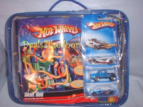 Hot Wheels Game Rug 40 In X 40 In With 3 Cars By Hot Wheels 69 99