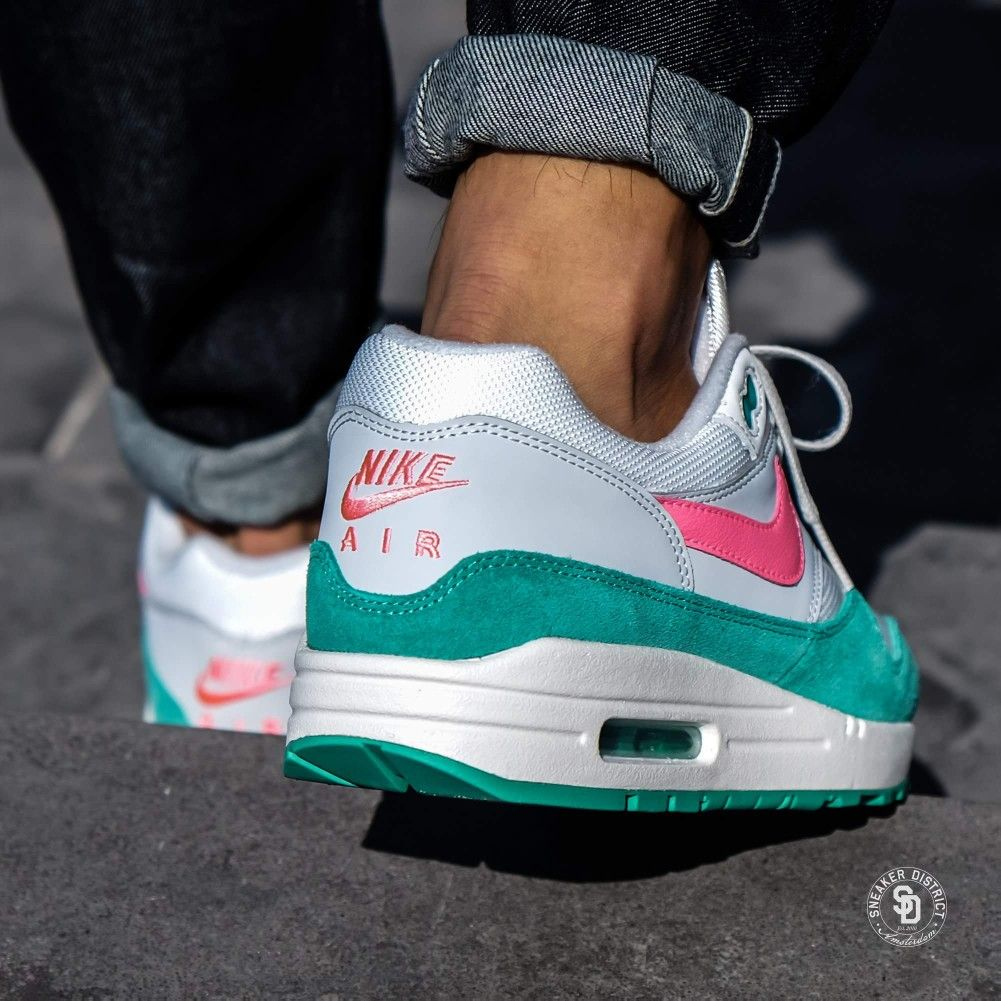 Sold Out The Nike Air Max 1 Watermelon Air Max 1 Summit White Sunset Pulse Kinetic Green Restock Is Sold Out The Next Restock Wil Nike Air Max Nike Air Max