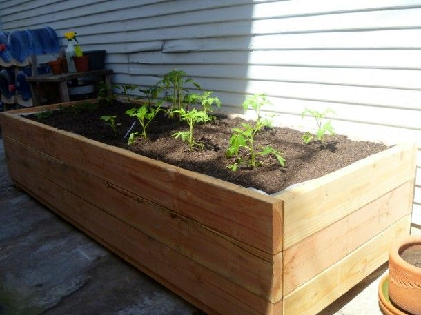 Diy Portable Planter Box Ideas   Google Search