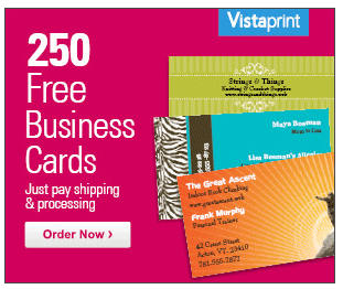 Vistaprint free 250 premium business cards cards vistaprint free 250 premium business cards truecouponing reheart Gallery