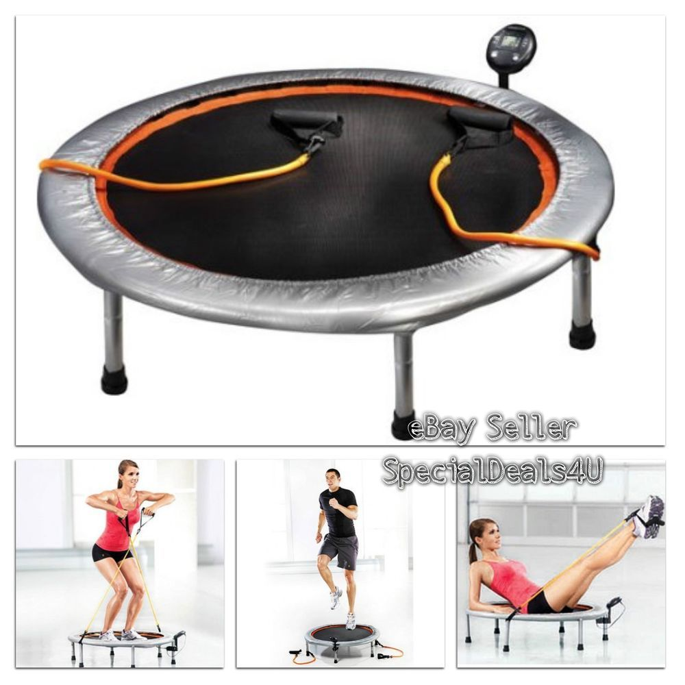 36 Mini Trampoline Gym Circuit Trainer Fitness Exercise