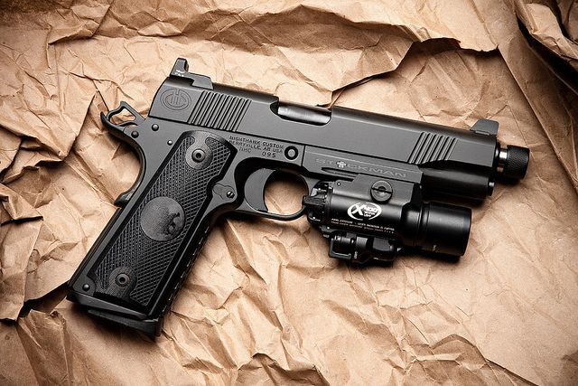 I prefer plastic guns, but this Nighthawk makes me want a