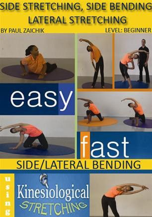 side bending beginner level  muscle stretches