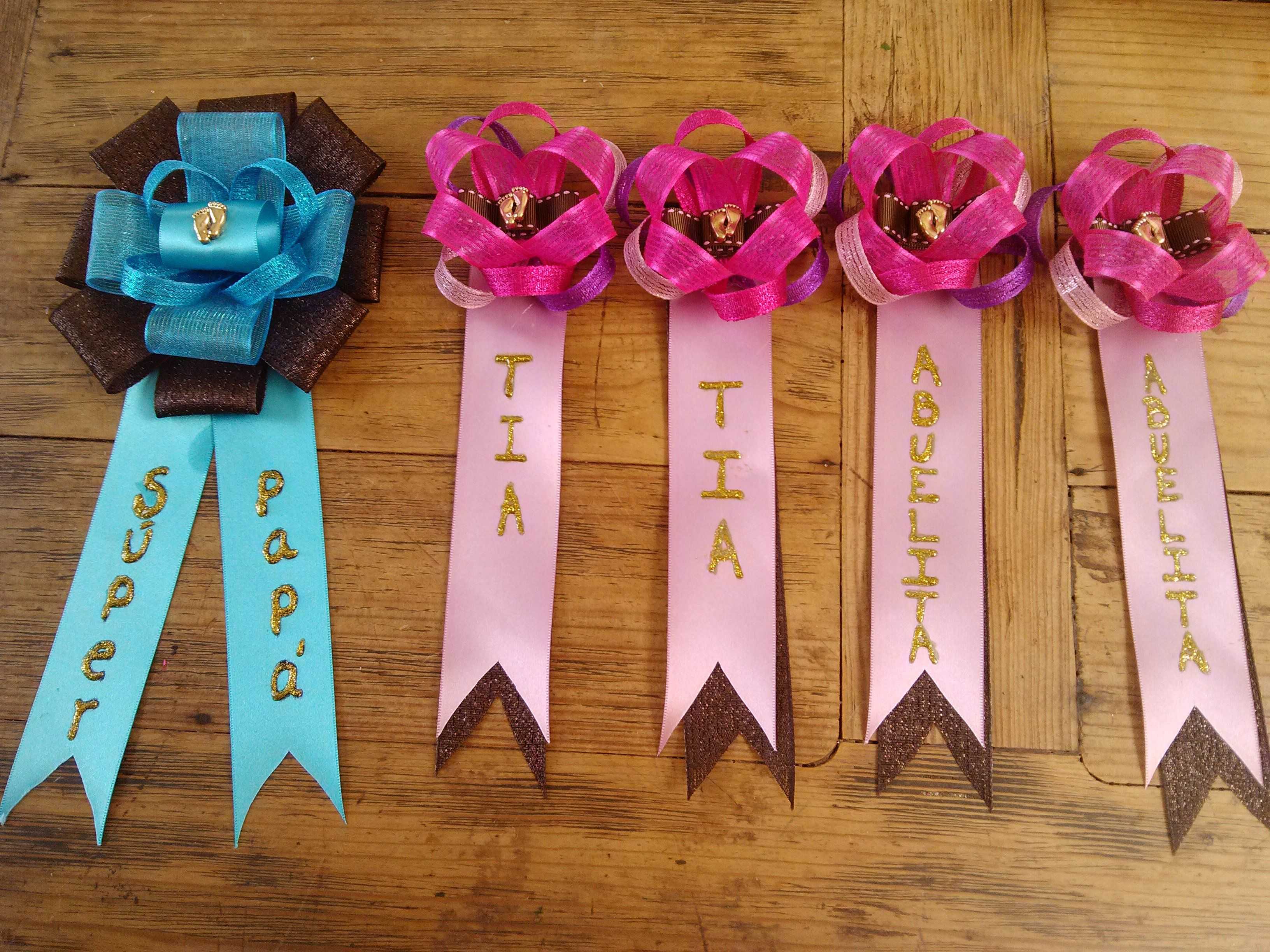 Corsages Para Baby Shower Party Kids Bebe Y Manualidades