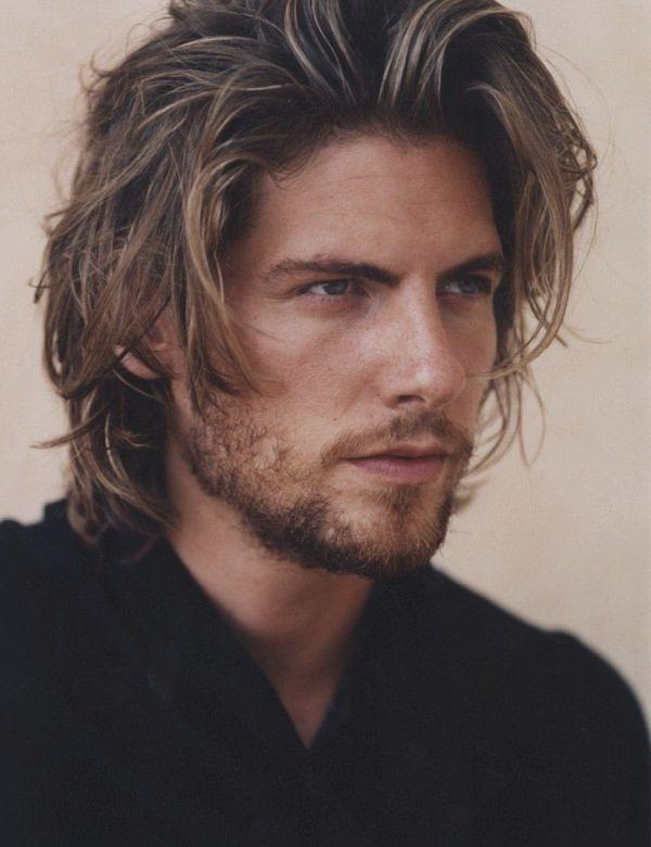Mens Long Hairstyles For Thick Hair Heren Kapsel Herenkapsels