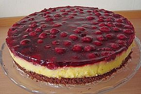 Photo of Cherry sour cream cake by Lisa50   chef