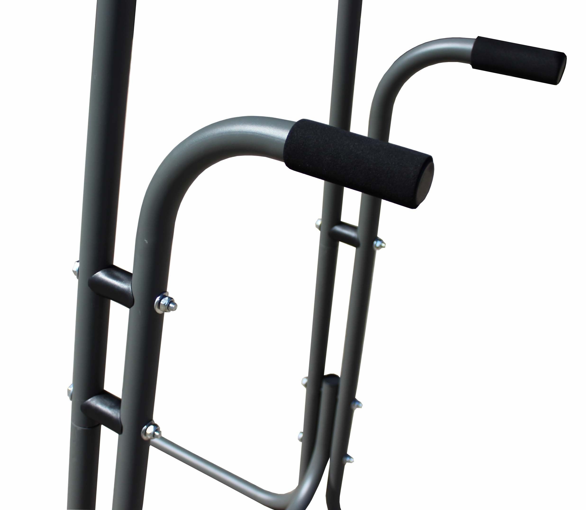Titan fit power tower workout station pull up dip station