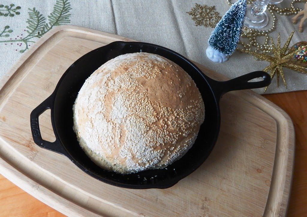 How To Bake No Knead Turbo Bread In A Skillet Ready To Bake In