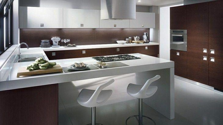 Moderne Küchen Uförmige Verteilung und andere Varianten