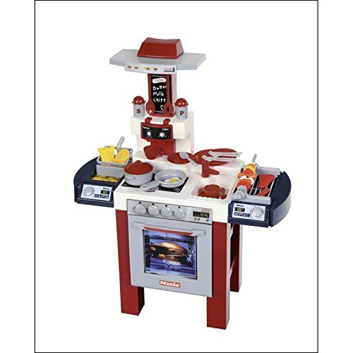 Theo Klein 9130 Miele Kuche Mit Grill Und Friteuse Unisex 3a Toy