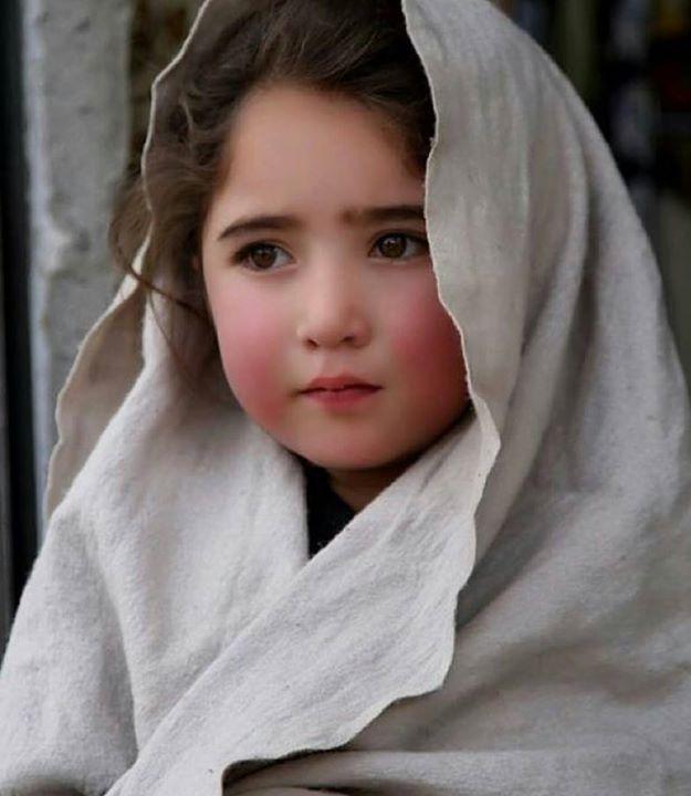 Potrait Of A Village Girl From Gilgit Baltistan Keep -9537