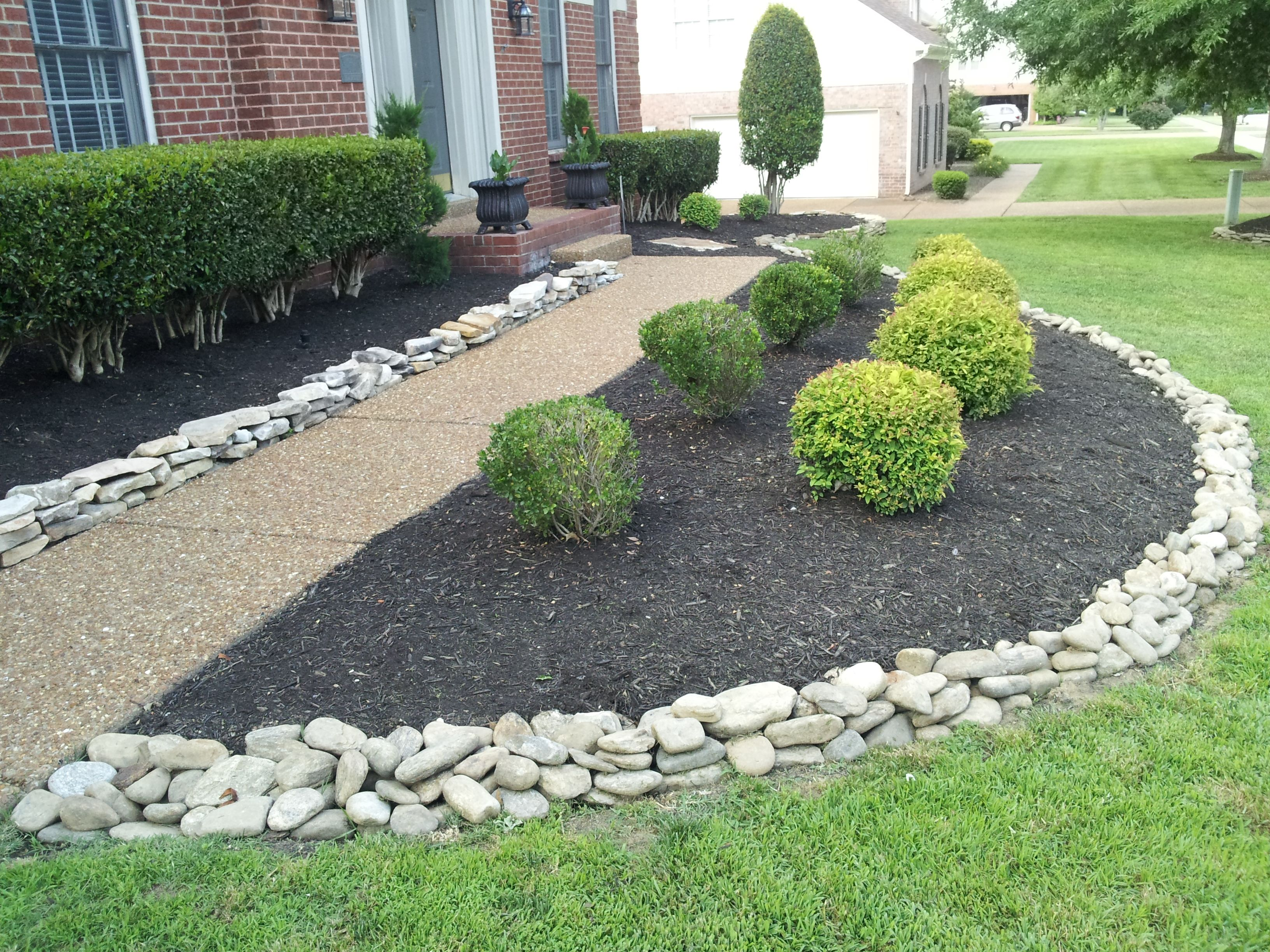 Landscaping Rock Residential Archives Franklin Stone Rocks Mulch Stones