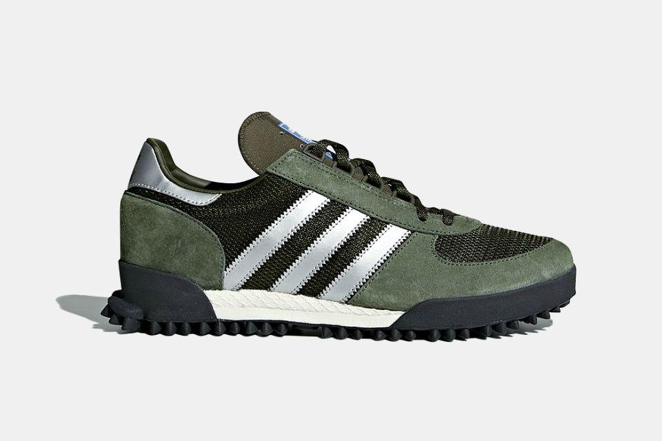 Adidas Marathon TR Shoes   GearMoose   Adidas classic shoes, Mens ...