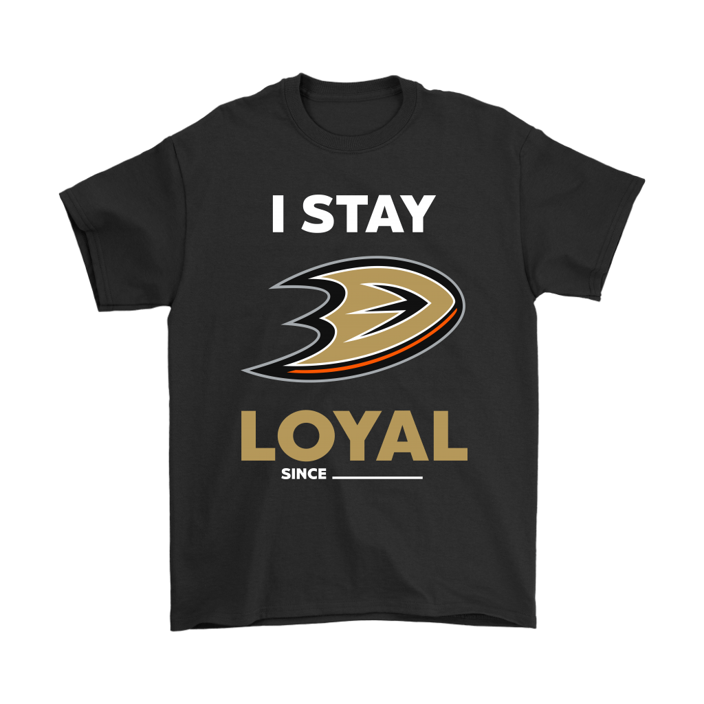 Anaheim Ducks I Stay Loyal Since Personalized Shirts - Snoopy Facts   A personalized shirt for the