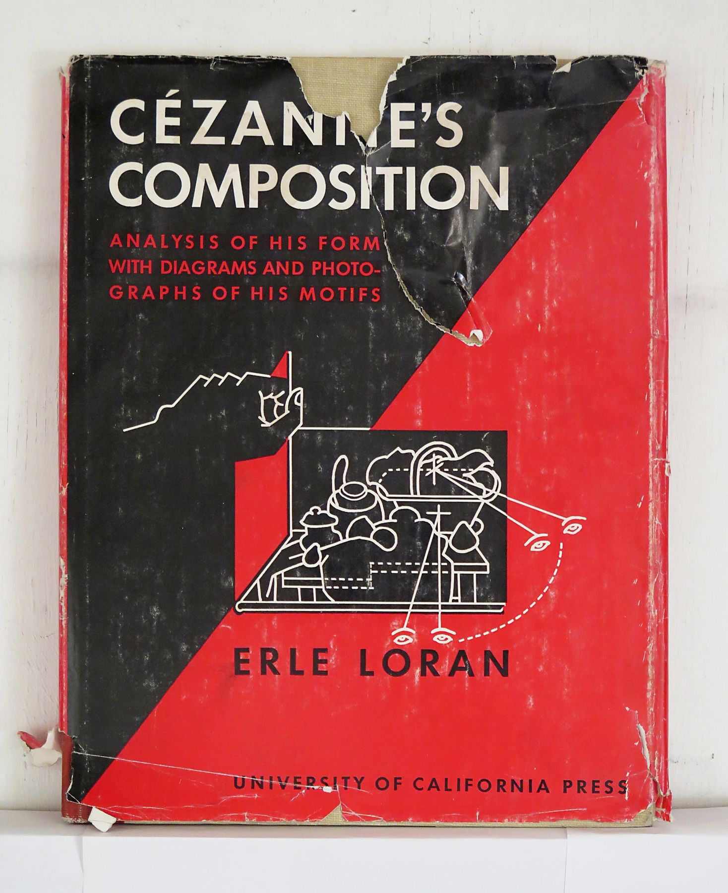 Cezannes composition analysis of his form with diagrams and cezannes composition analysis of his form with diagrams and photographs of his motifs erle compositionbook jacketbook ccuart
