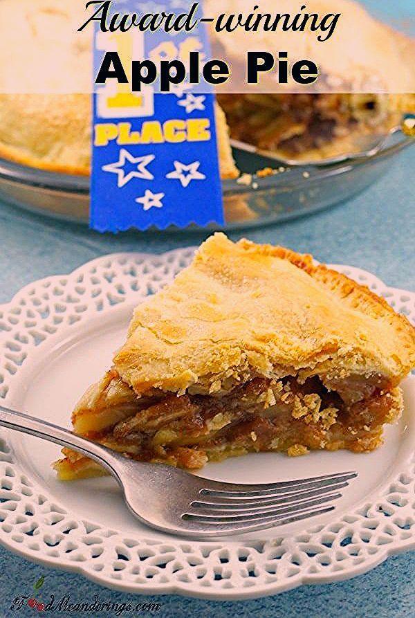 Award-winning Apple Pie | Deluxe apple pie: This award-winning Deluxe Apple Pie recipe has the perf