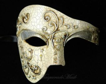 Halloween costume Masquerade prom Party cat mask Venetian Phantom of Opera