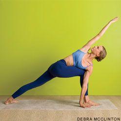 revolved side angle pose  yoga journal yoga poses side