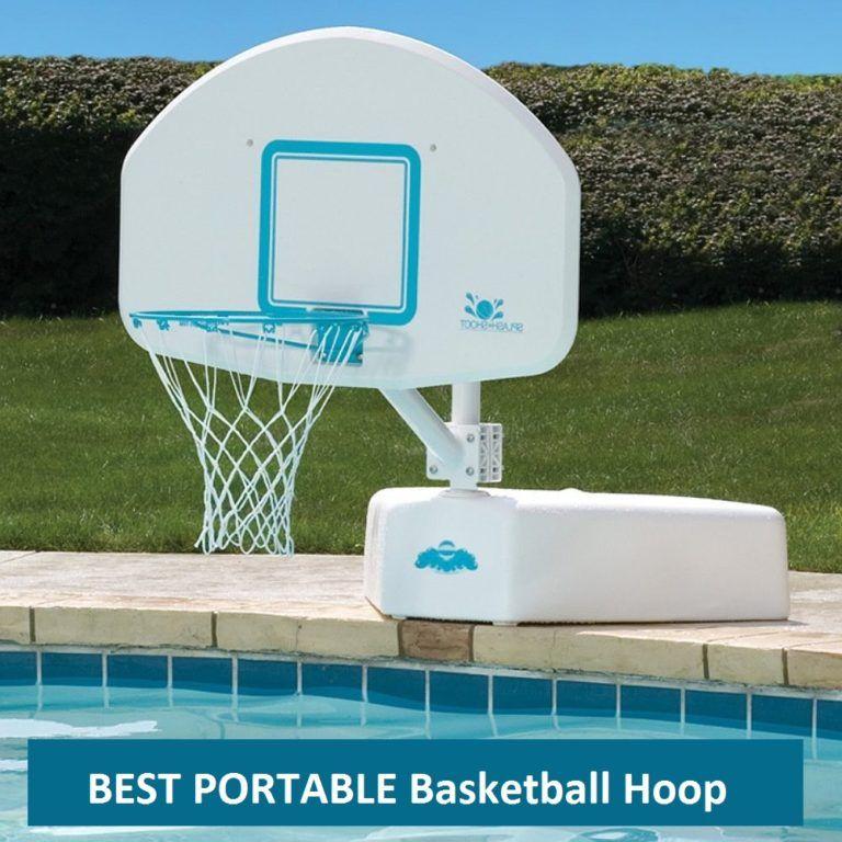 Best Pool Basketball Hoops In 2020 Pool Basketball Portable