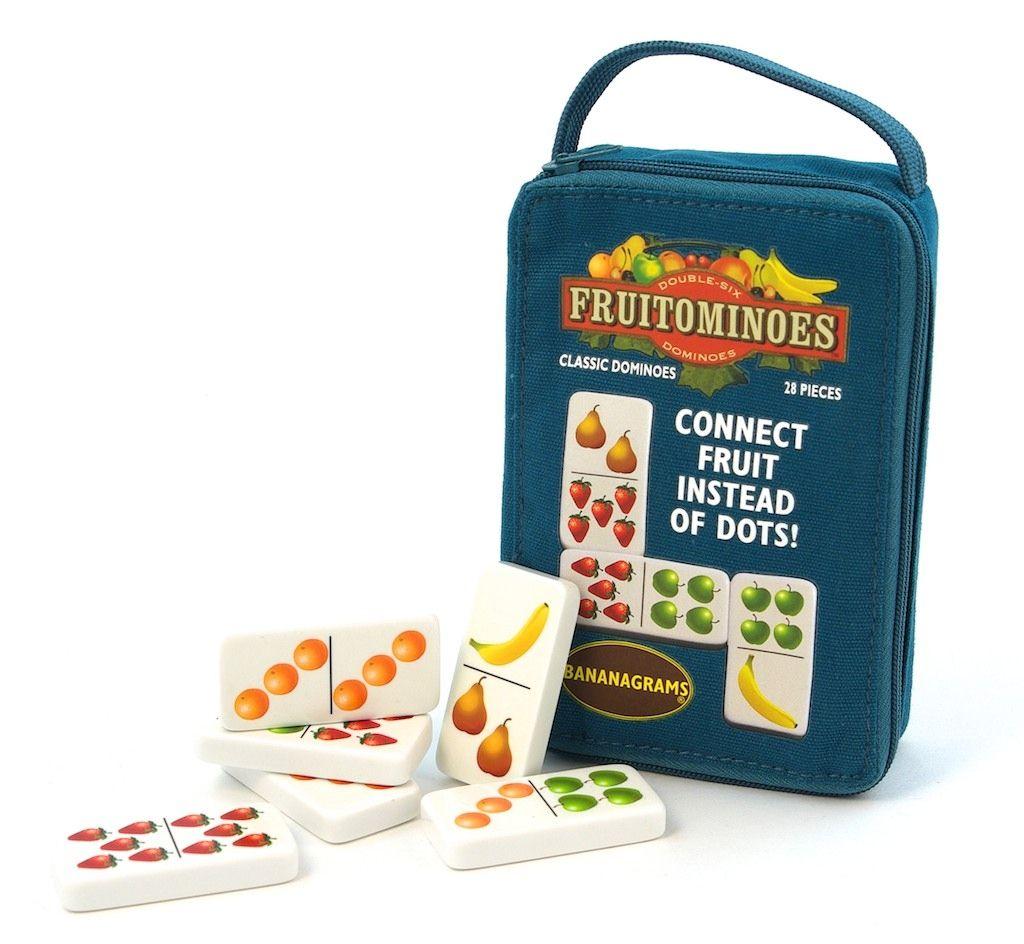 Fruitominoes by BANANAGRAMS | Dominoes for kids, Hobby ...