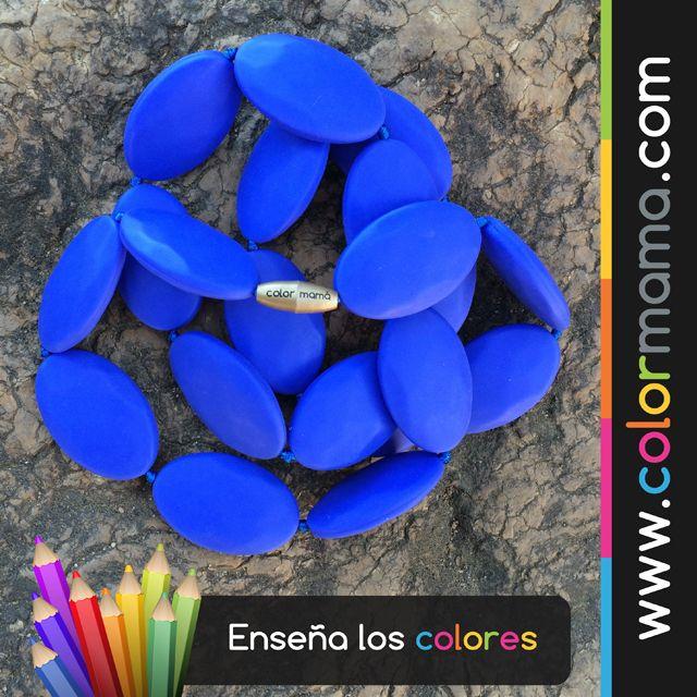 Enseña el color AZUL de forma divertida y segura. Todos nuestros accesorios son 100% Silicona libres de BPA, ftalatos, cadmio y plomo. #BEcolor #BEcolormama www.colormama.com