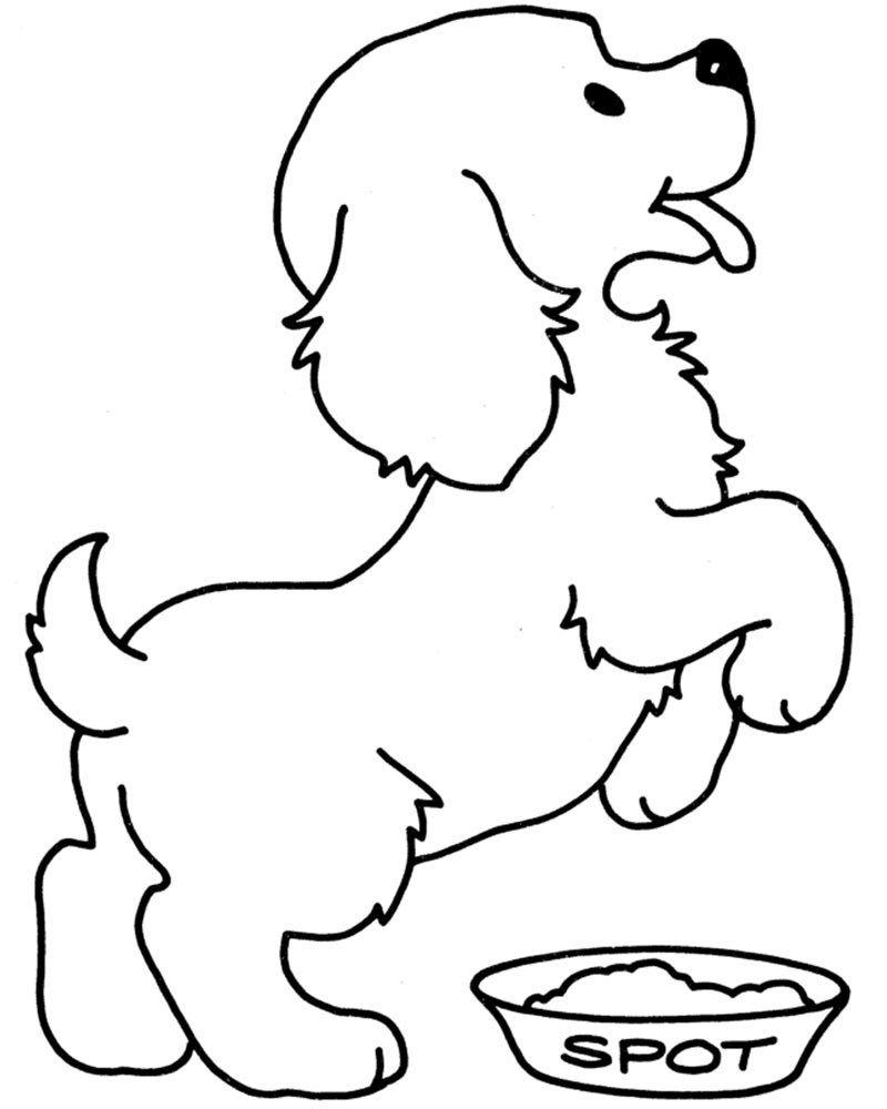 Dibujos Para Colorear De Perros Cachorros Dibujos Para Colorear De Perros Tiernos Dibujos Faciles De Perros Dibujos De Perros Perritos Para Dibujar