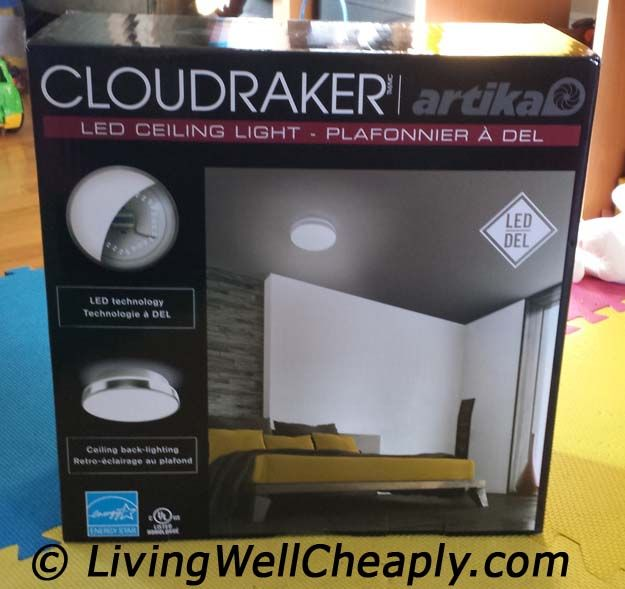 Artika Cloudraker LED Ceiling Light from Costco: Product ...