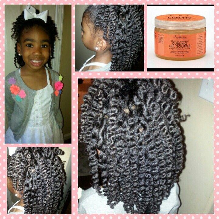 Twist Out Natural Hair Styles Shea Moisture Twists Kids