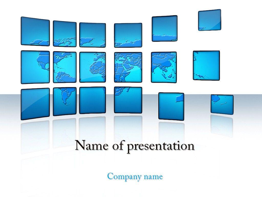 world news powerpoint template | powerpoint templates | pinterest, Presentation templates