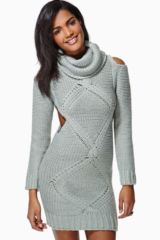 Imagen de http://www.dressesonline.co/wp-content/uploads/2013/12/Sexy-Bodycon-Sweater-Dress-2.jpg