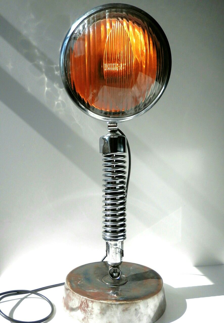 King of the road lamp with harley davidson suspension spring king of the road lamp with harley davidson suspension spring mozeypictures Image collections